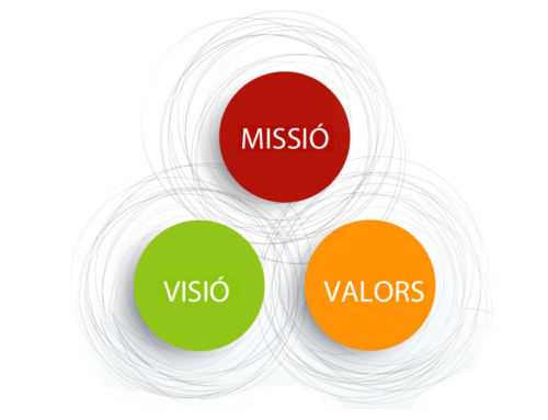 MISSIÓ, VISIÓ I VALORS